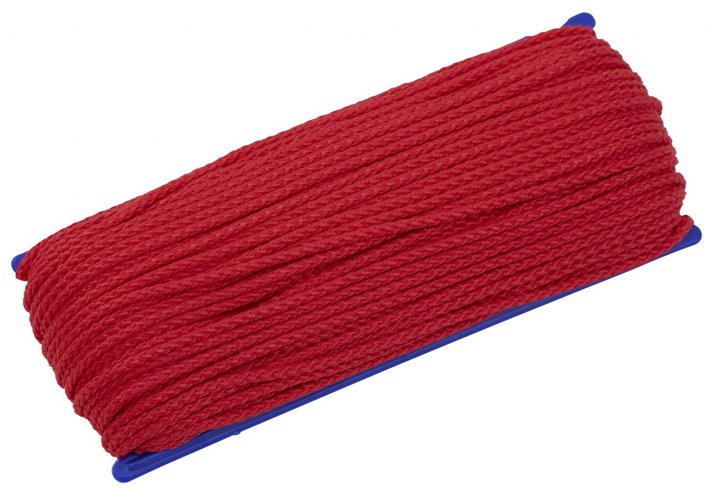 Cordage 6464330 serrage corde zeltleine 20m 3mm de camping star 1m = 0,35 €